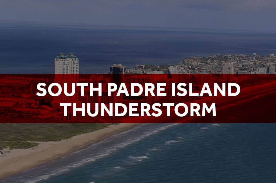 OCTOBER 2019 SOUTH PADRE ISLAND STORM