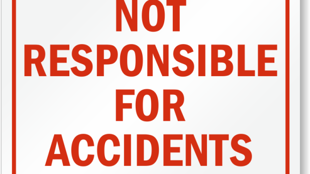 not-responsible-for-accidents-sign-s-9131