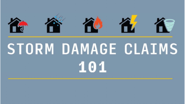 storm damage claims 101
