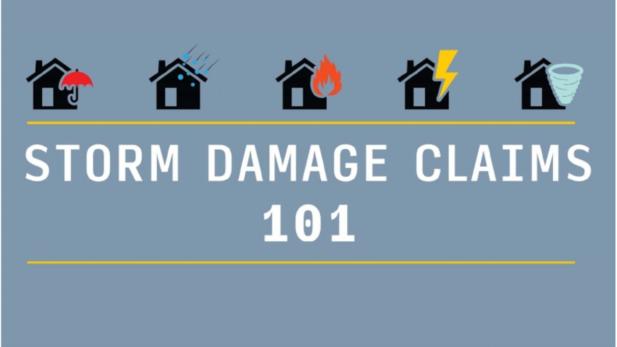 storm damage claims 101