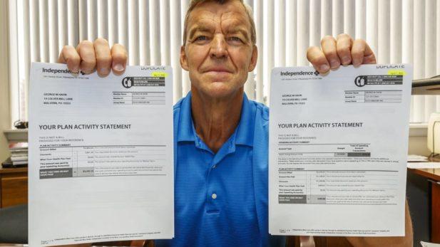 same exam same hospital two different hospital bills