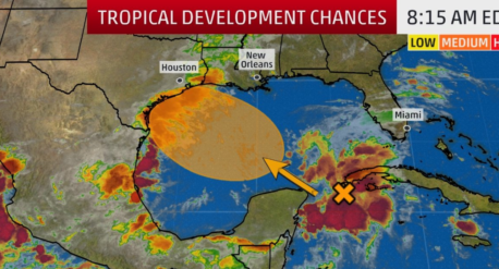 Tropical development RGV Hurricane