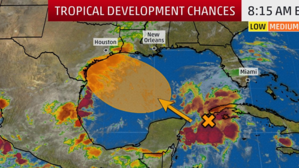 Tropical development RGV Hurricane