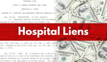texas hospital lien lawsuit texas hospital lien lawyers texas hospital liens