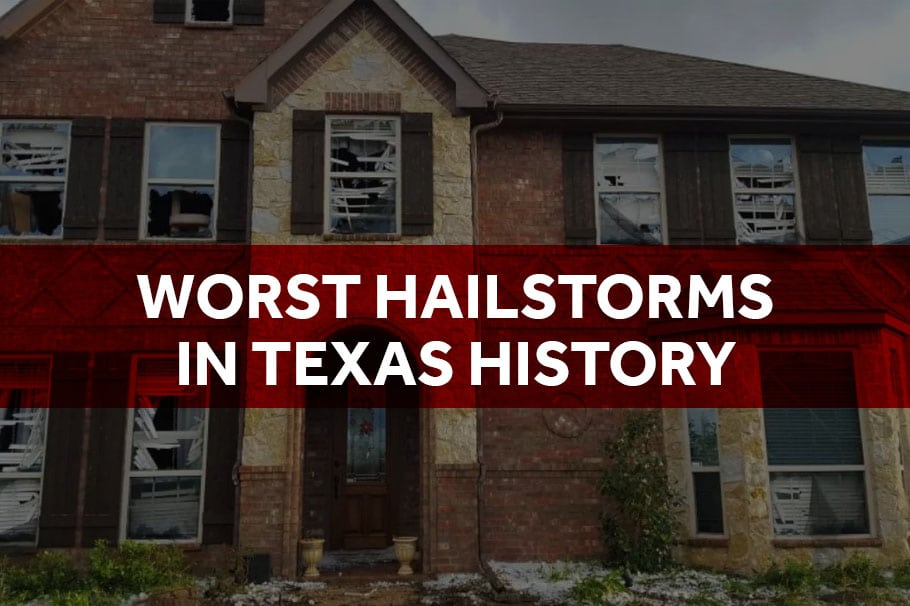 worst hailstorms in texas history - texas hailstorm lawyer