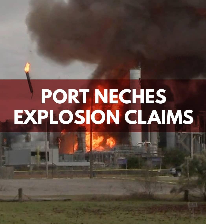 port neches explosion claim