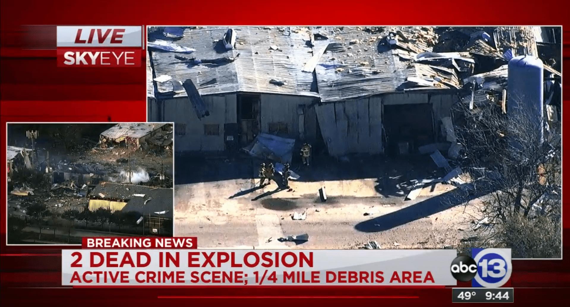 Watson Houston Explosion
