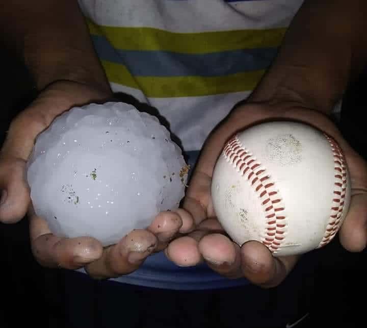 del rio hailstorm april 2020